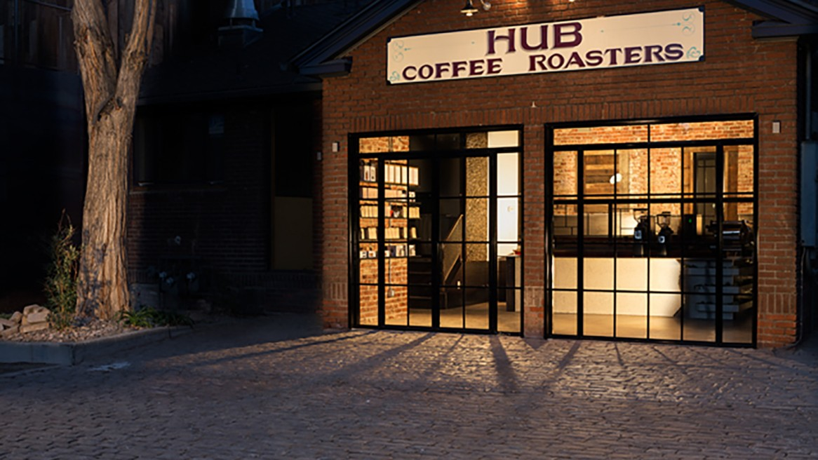 The Hub Coffee Roasters – Interior Design Project
