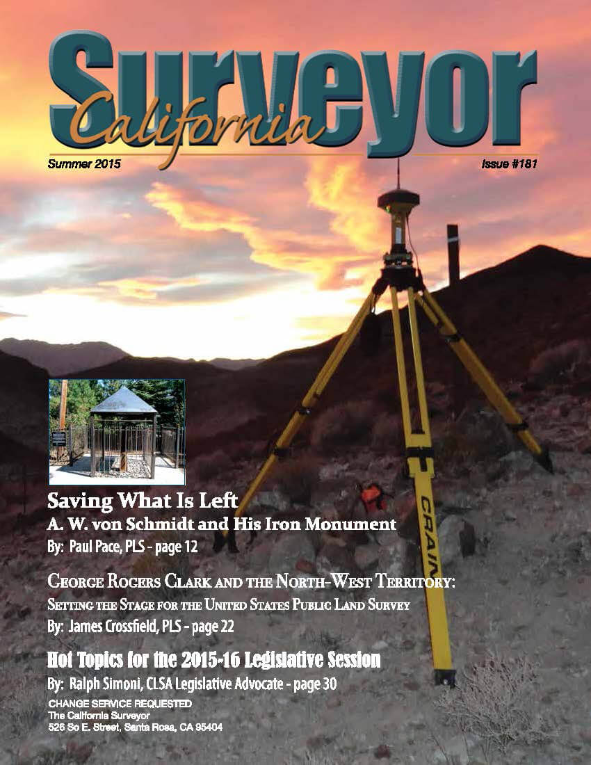 California Surveyor Von Schmidt Monument _ TF Article_Page_1