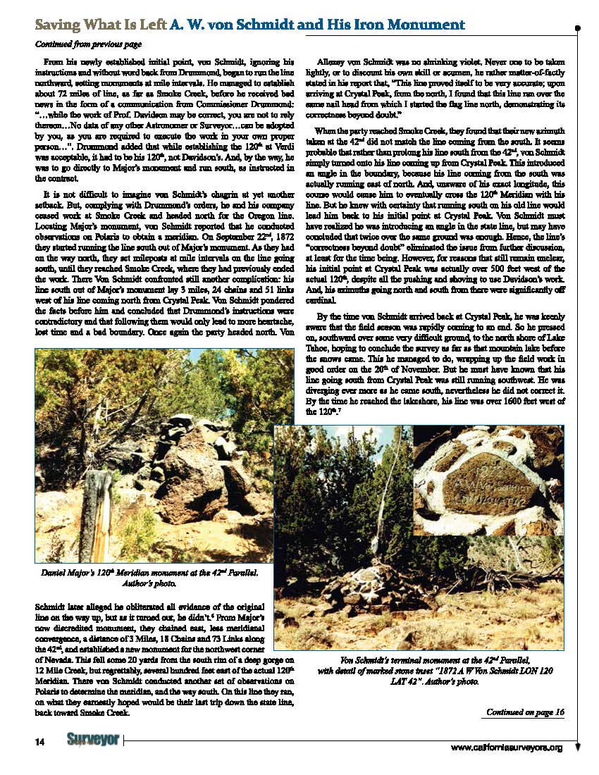 California Surveyor Von Schmidt Monument _ TF Article_Page_4