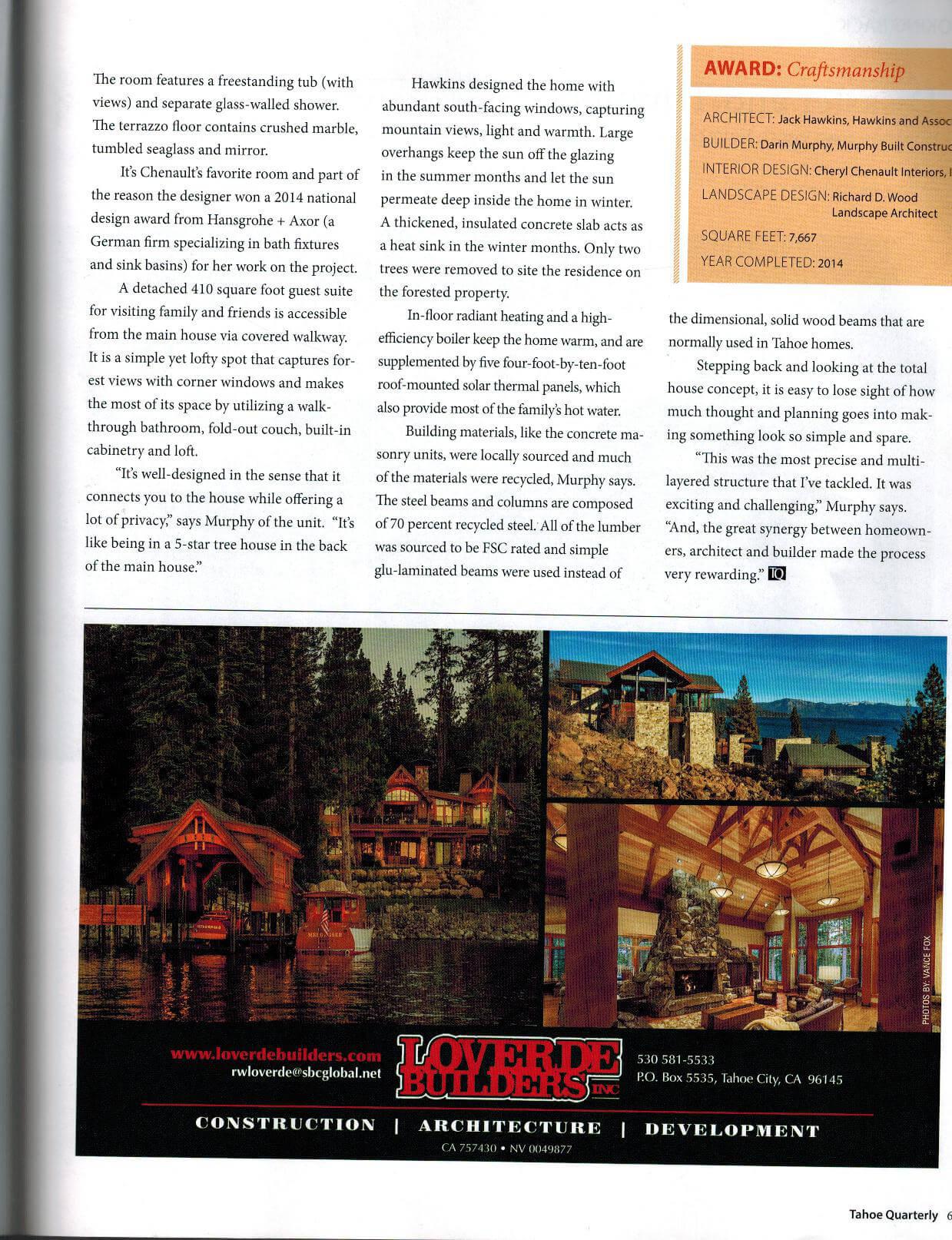 Tahoe Quarterly 2015 Bancroft0005