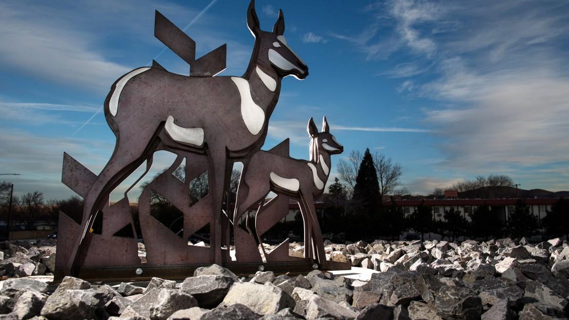 Moana Interchange Sculptures